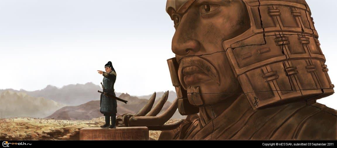 """Рисунок по фильму """"Мумия 3"""""""
