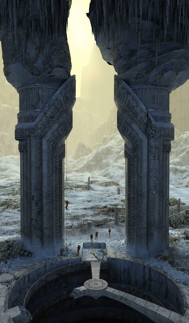 Врата в царство Аида. Экспедиция.