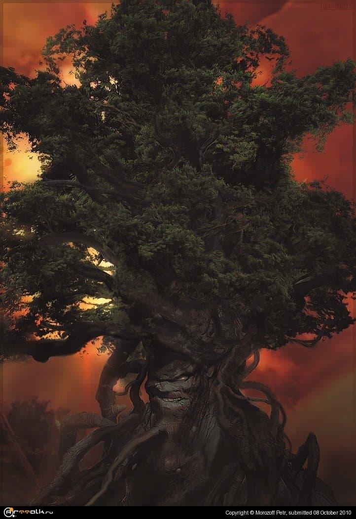 Zлое дерево