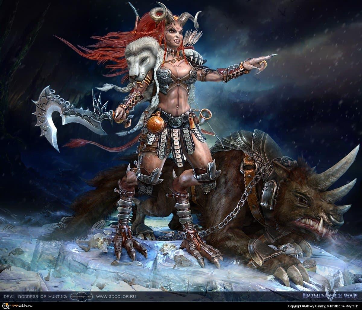 Dw5- Devil Goddess Of Hunting