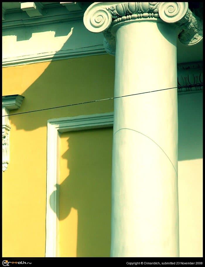 портрет призрака появляющегося днем