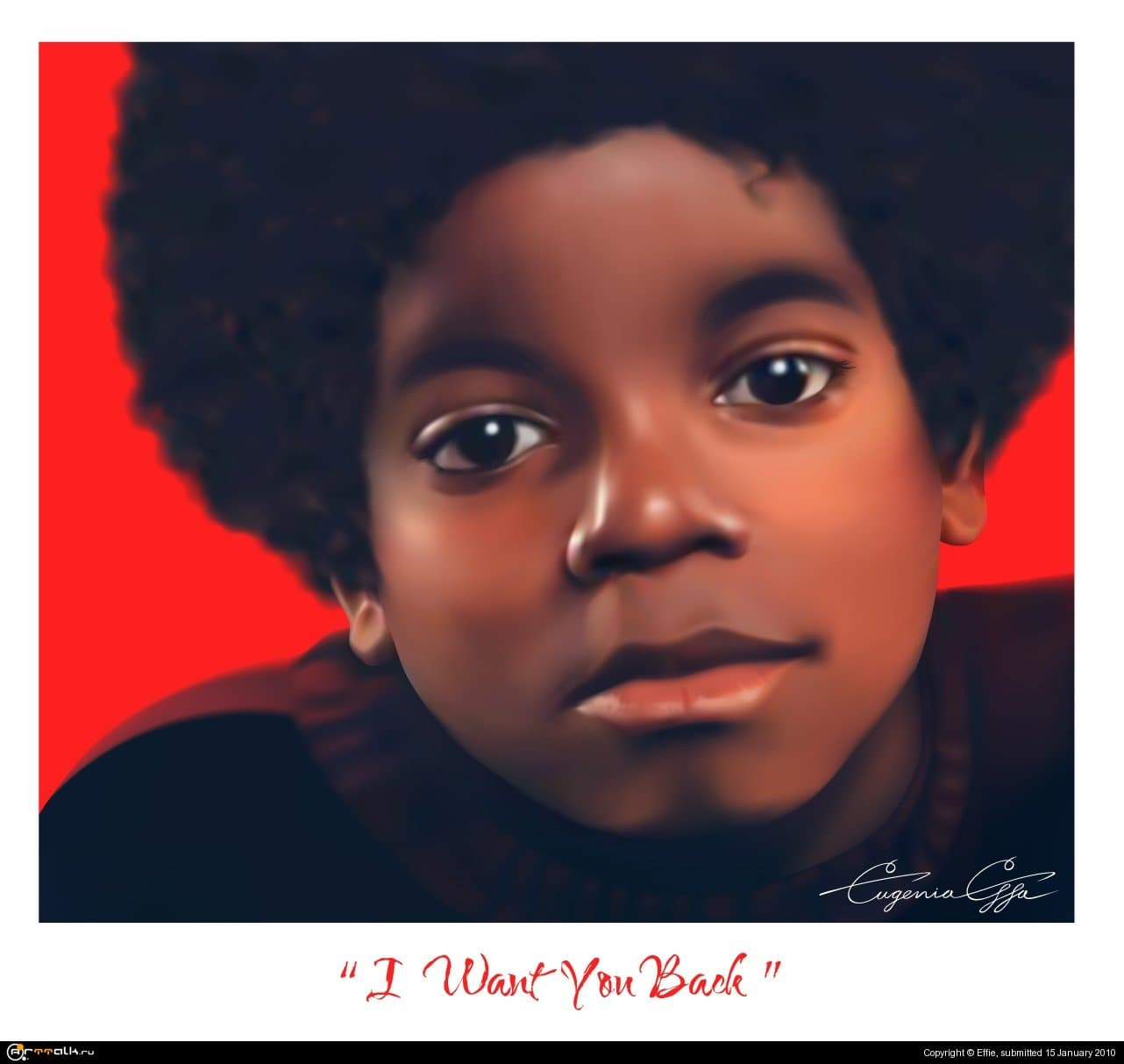 "Michael Jackson ""i Want U Back\"""