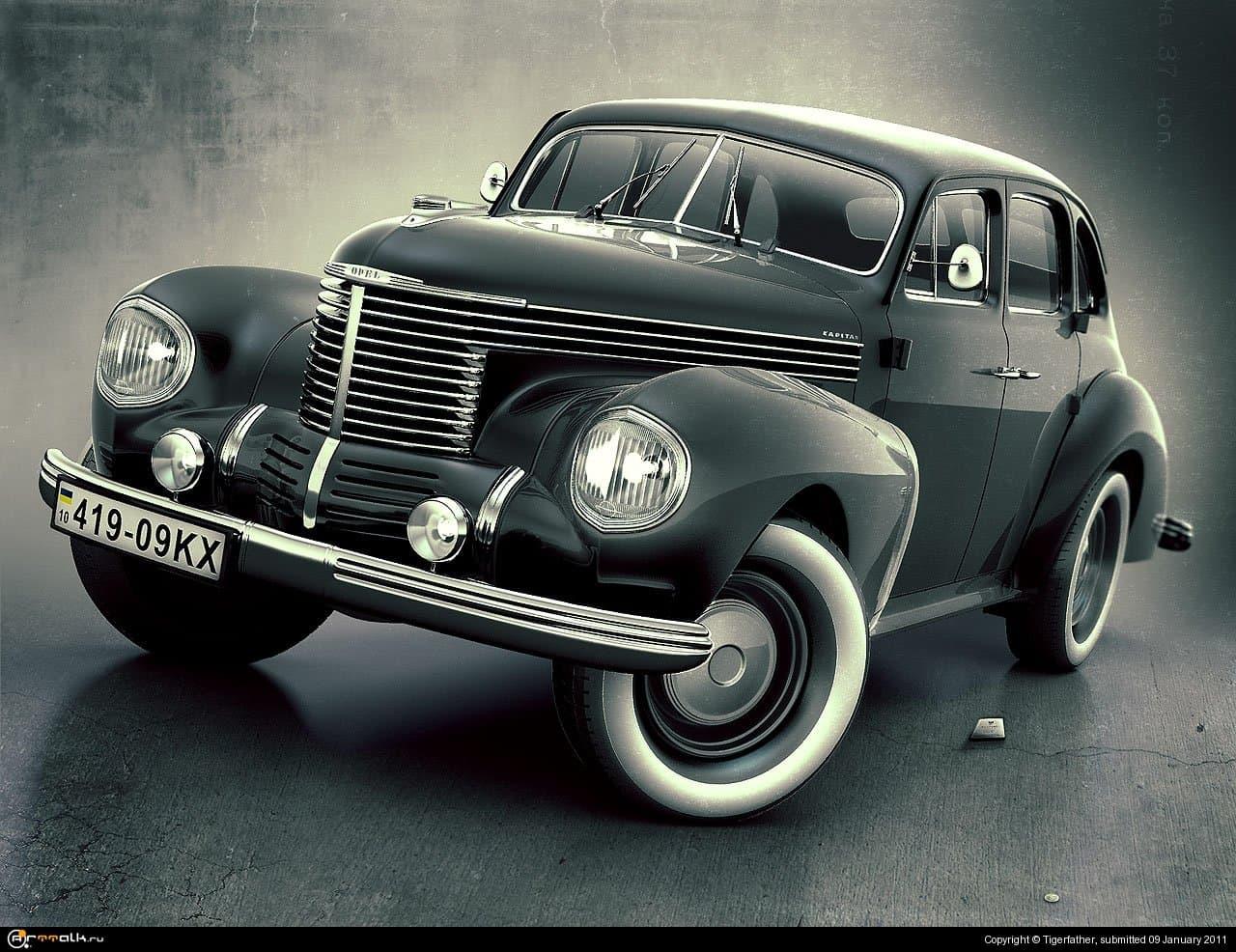 Opel Kapitan 1938