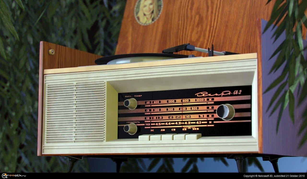 """Радиола \""""Рекорд-68-2\"""""""