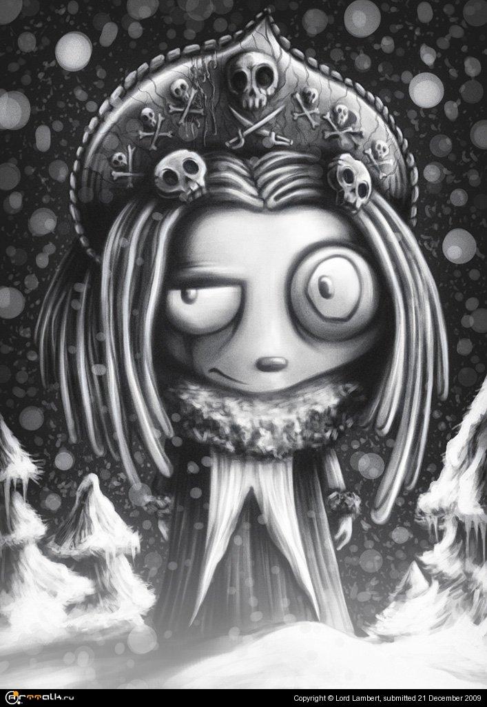 Ленор - Снегурочка в лесу
