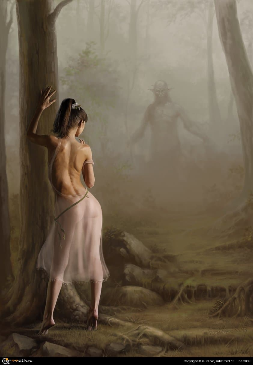 Сатир и Нимфа