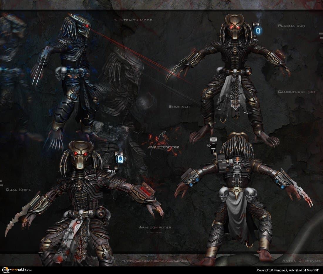 Predator Redesign Modeling Sheet