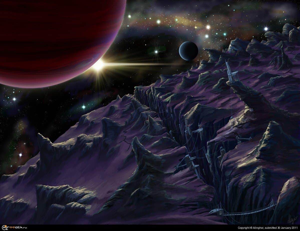 Space Landscape 3