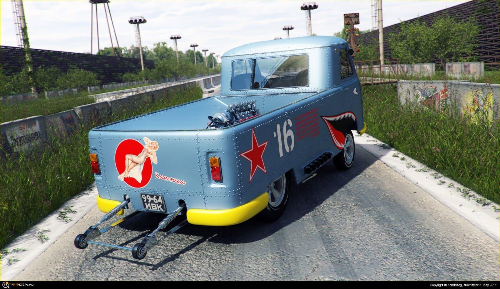 УАЗ 3741 Gasser