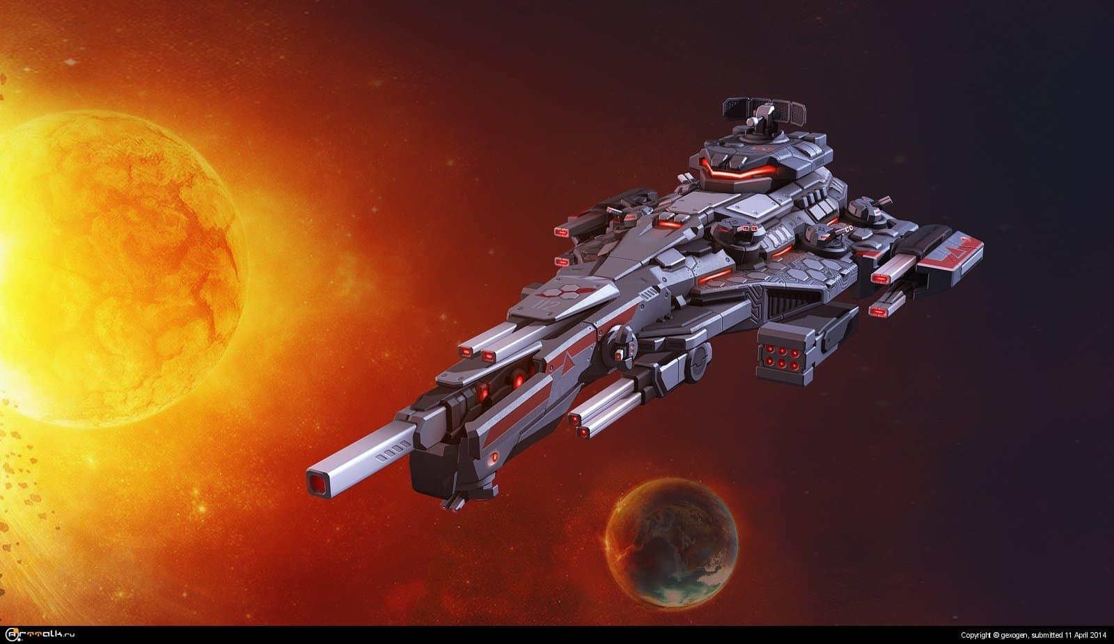 космическая крепость Берсерк
