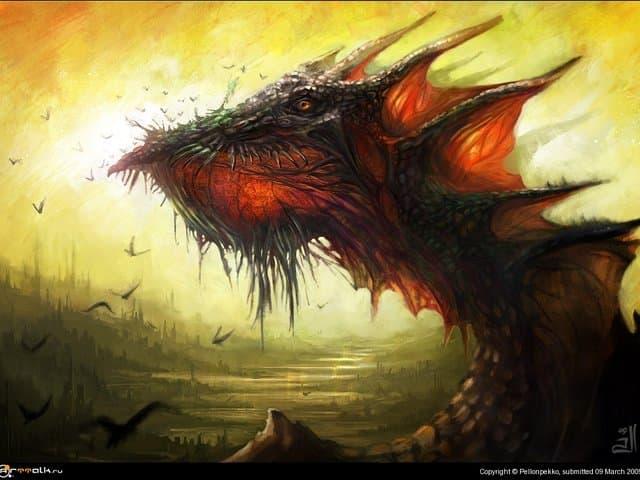 Дракон обыкновенный