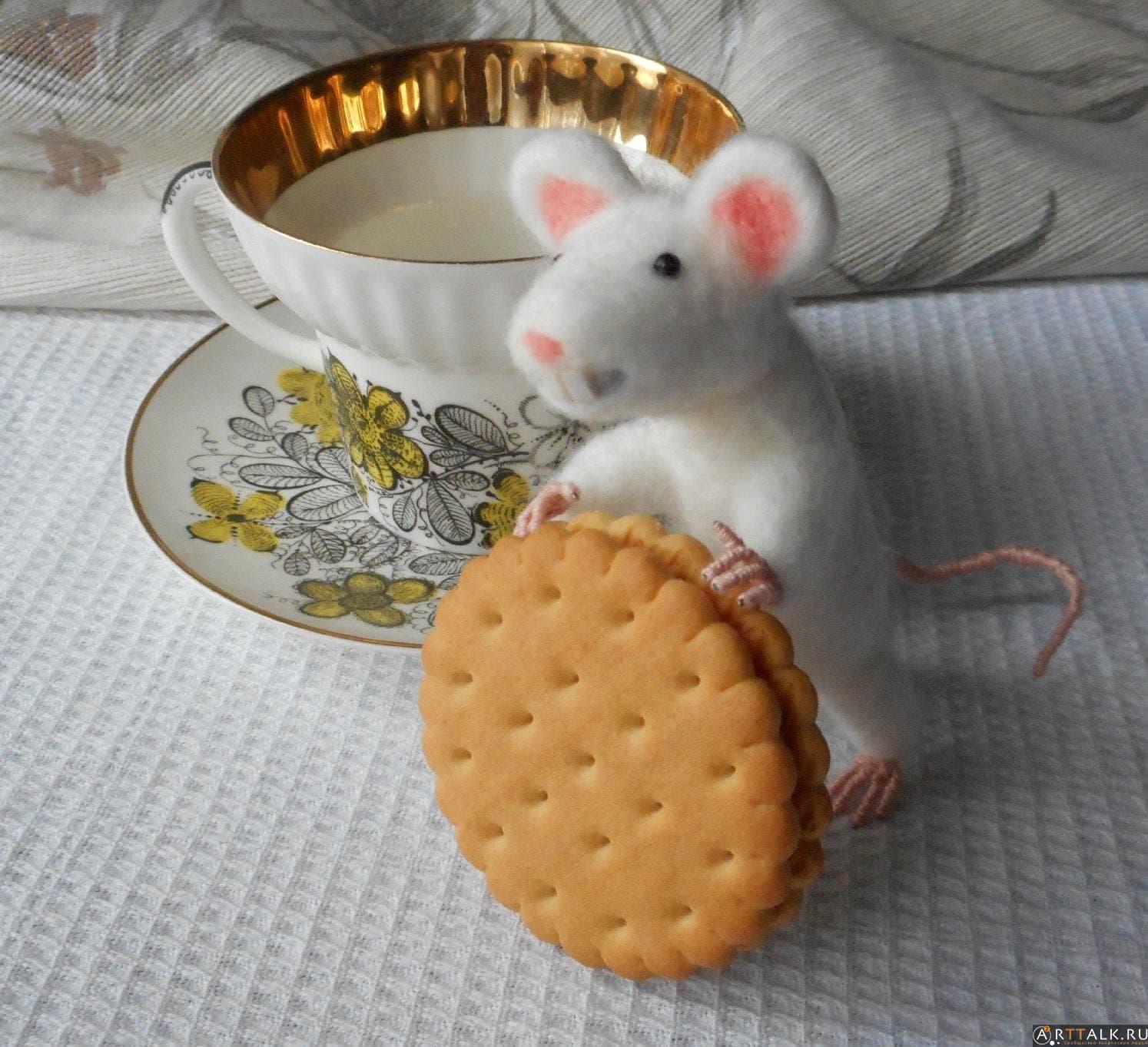 Белая крыска