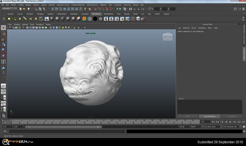 Normal bump  Zbrush to maya and 3ds max  - Форум о компьютерной